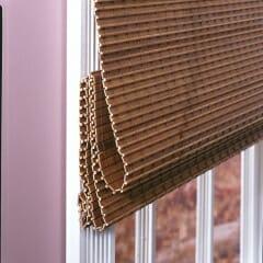 Woven Wood Flat Fold