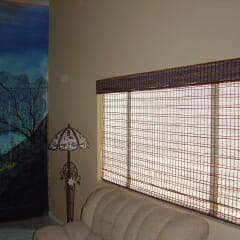 Woven Wood Privacy Liner