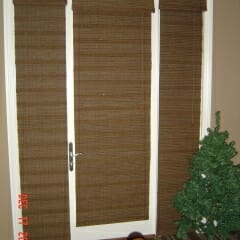 Woven Woods On Doors And Sidelight Windows