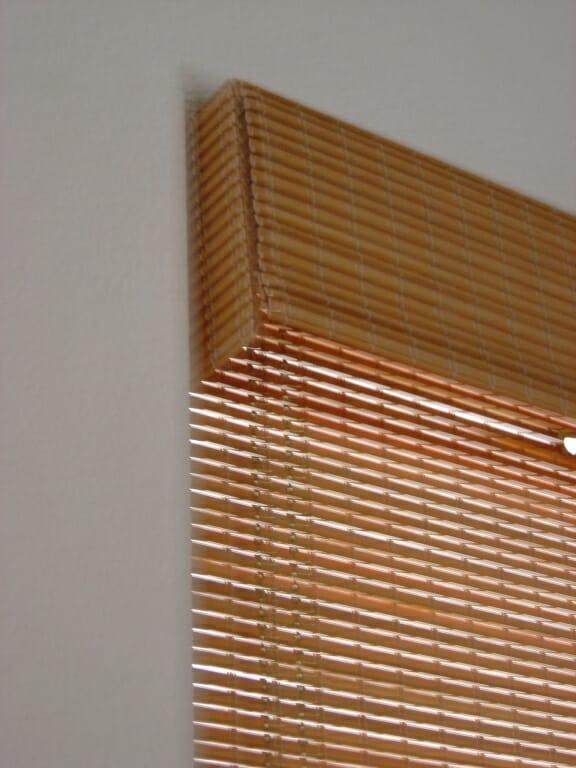 Custom Woven Wood Shades Roman Natural Weave Cordless