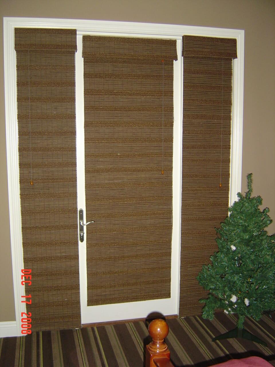 Window Treatment Ideas For Doors 3 Blind Mice