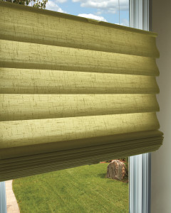 Top Down Bottom Up Modern Roman Shade