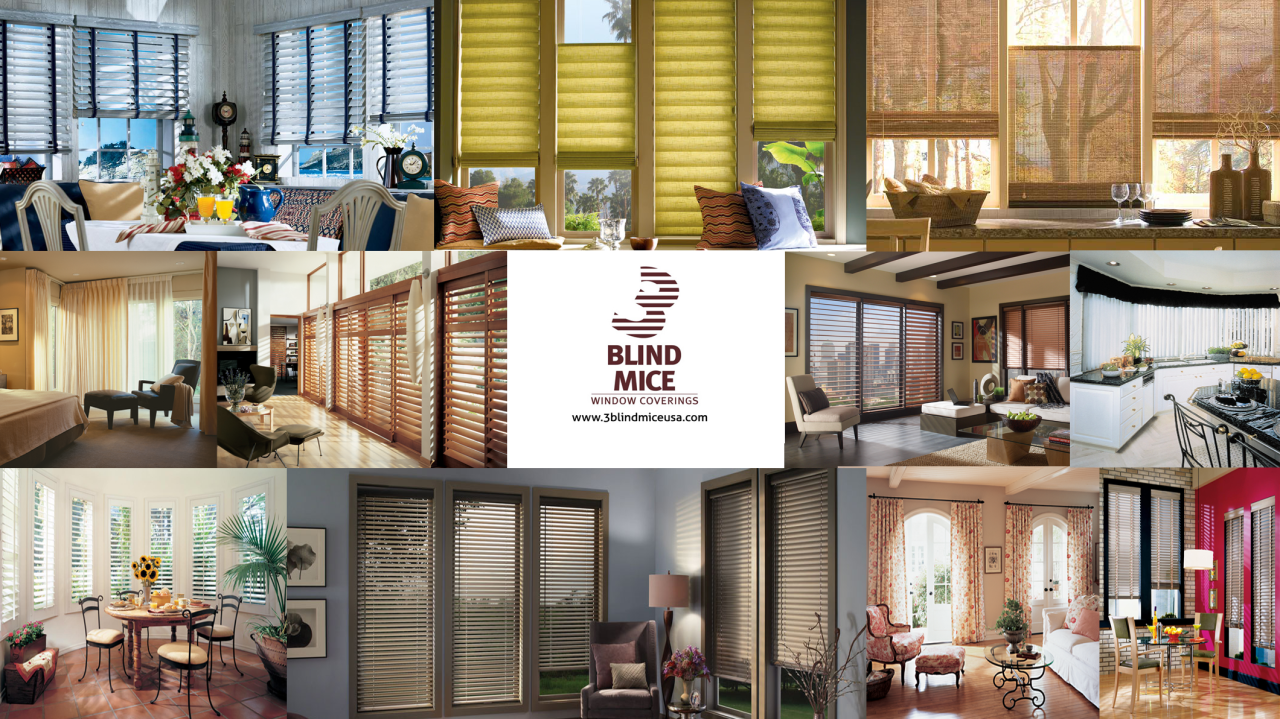 3 Blind Mice Window Coverings | Custom Window Treatments