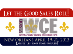 See You at the International Window Coverings Expo
