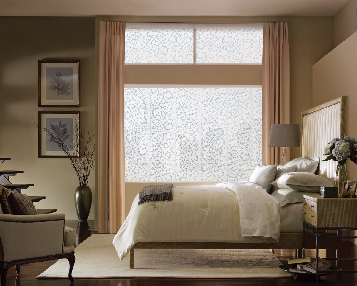 Window treatment ideas for the bedroom 3 blind mice for What is a window treatment