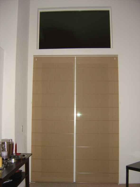 brown window treatments window treatment ideas for doors 3 blind mice