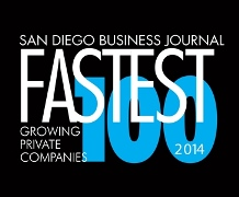 2011 Fastest growing 100 Logo