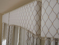 Curtains for living room drapery curtain curtain ideas for living - Cornice Box Or Valance Which Style For Your Home
