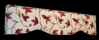 padded cornice box design