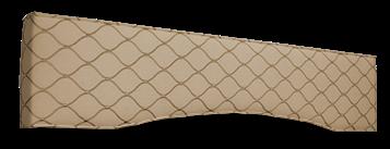 padded cornice box design paterns