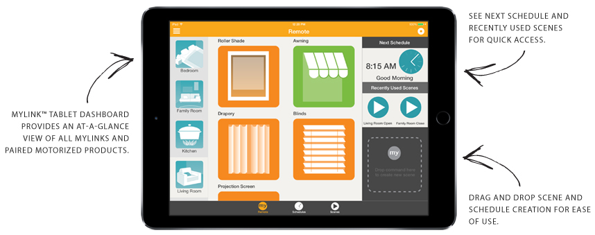 somfy mylink for tablets