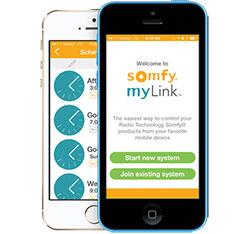 somfy mylink iphone