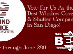 Vote for Us as the Best In San Diego