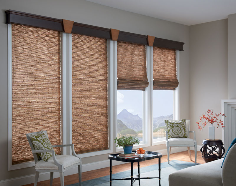 Fabric Covered Wood Valance
