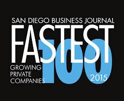 2015 fastest growing companies san diego business journal