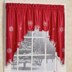 Window Decorating Ideas For Holidays - Valance