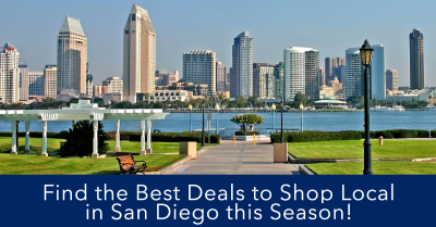 Black Friday Deals in San Diego (Small Business Saturday & Cyber Monday)