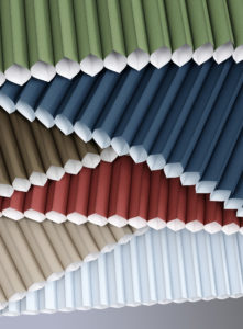 Colorful Cellular Shades