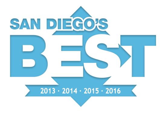 Logo of Union-Tribune's San Diego's Top Window Coverings / Shutter Company Award