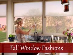 Fall Window Fashions