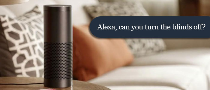 Voice Controlled Window Coverings With Amazon Echo