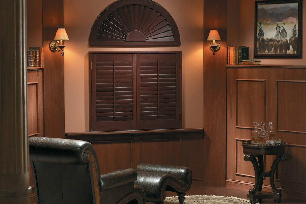 Custom Arched Shutters Plantation Shutters For Arched