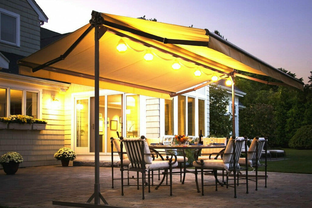 Best Motorized Retractable Awnings - Protect from harmful ...