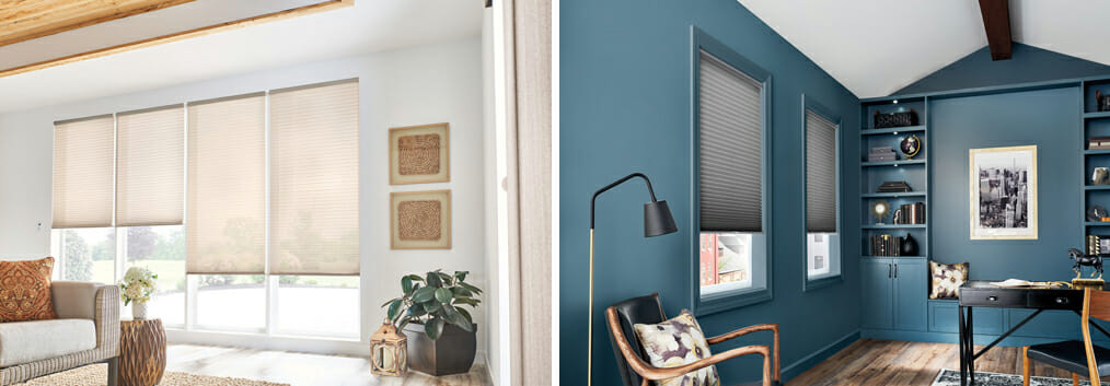 Cell-in-a-Cell filters unwanted glare while deflecting heat, keeping the room substantially cooler in the summer.