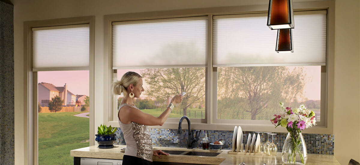 Don't want to spend time opening and closing the blinds?