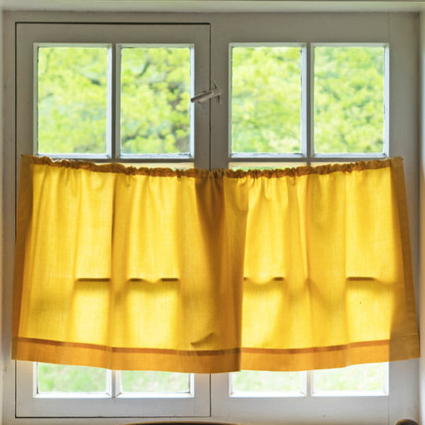 partial privacy with half-curtains
