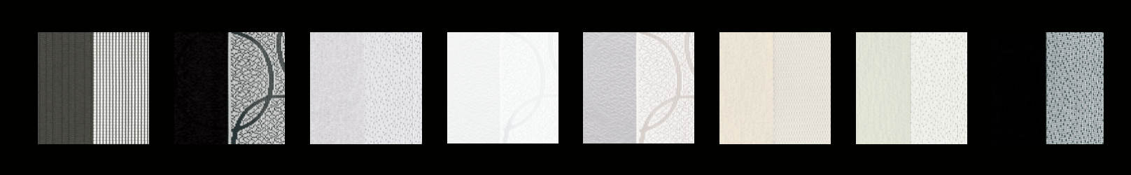 Norman SmartDrape color and pattern swatches