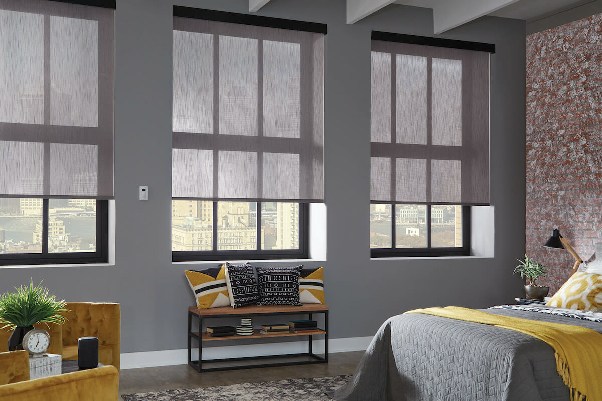 Select the right type of shade or blind for your rooms' needs.