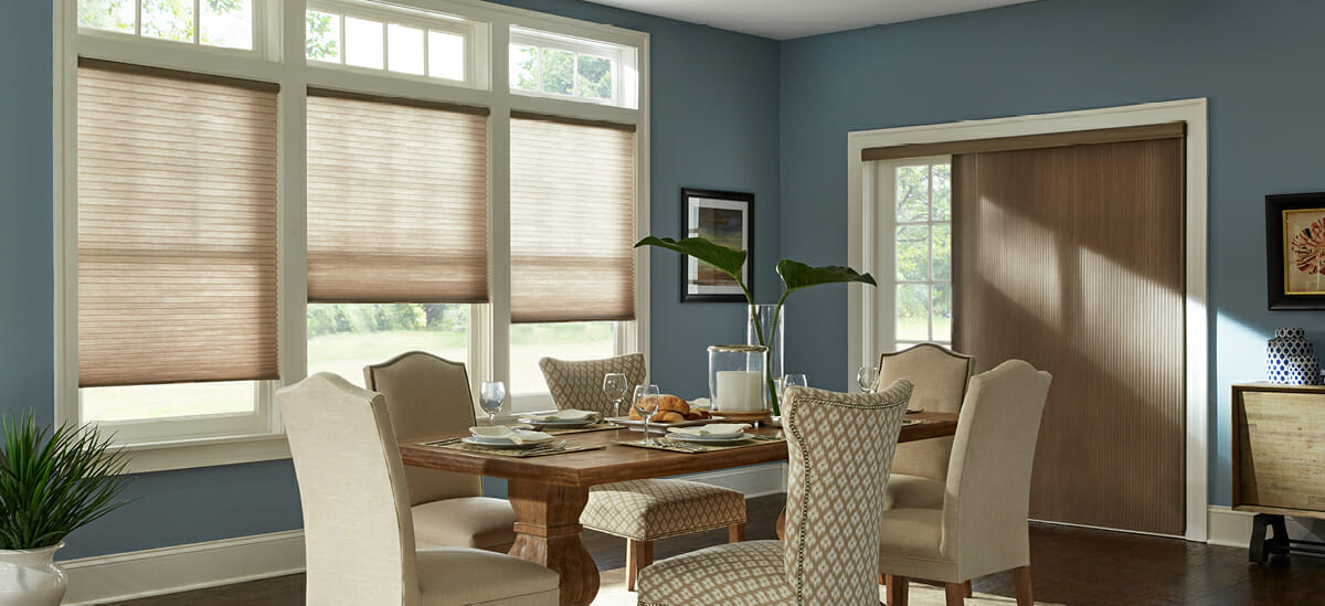 CELLULAR SHADES BRING THE ULTIMATE CONTROL